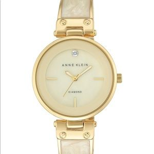 NEW Annie Klein Gold Toned Watch